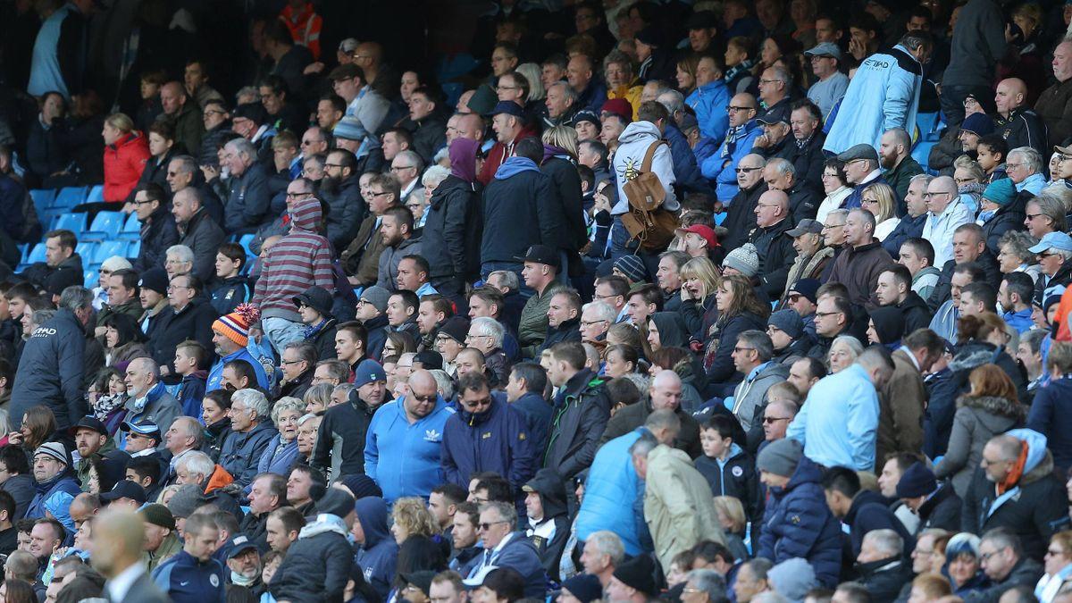 Фанаты Манчестер Сити