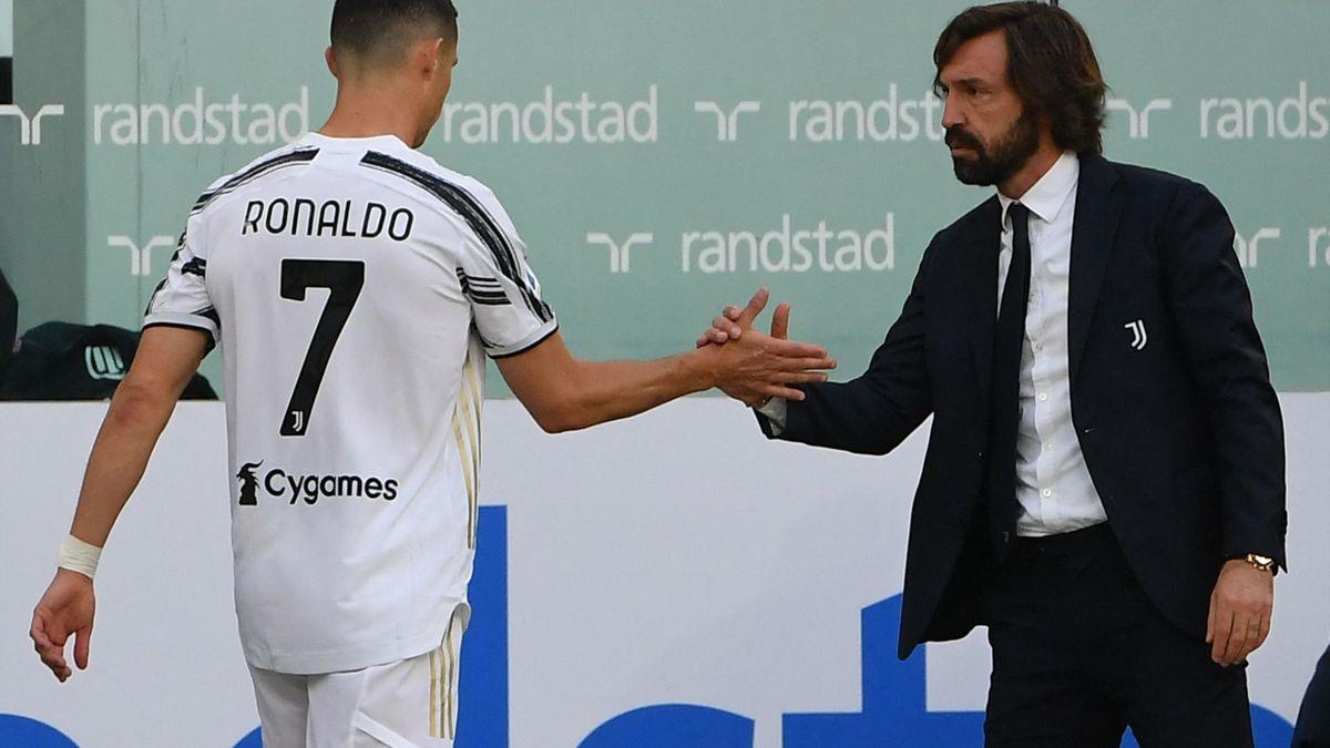 Cristiano Ronaldo & Andrea Pirlo