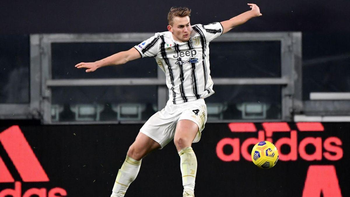 Matthijs de Ligt - Juventus - Serie A 2020-2021