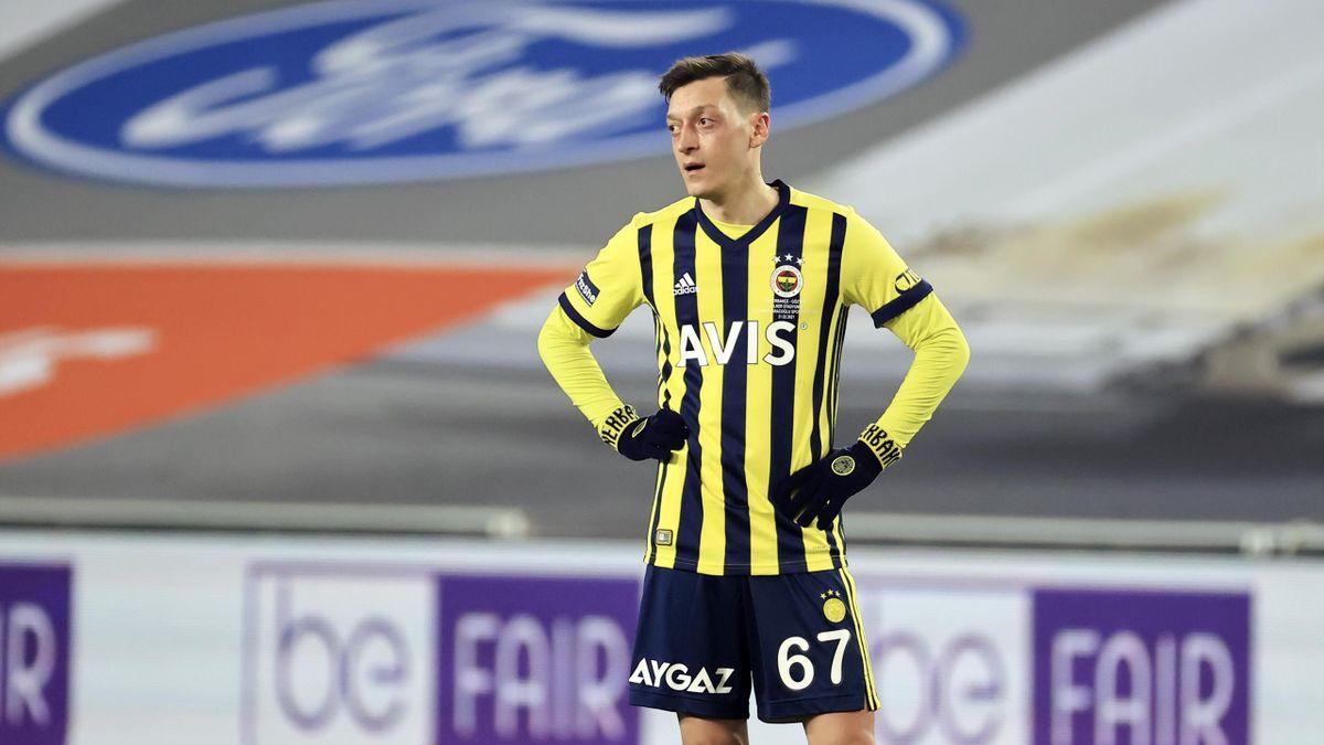 Mesut Özil im Februar 2021