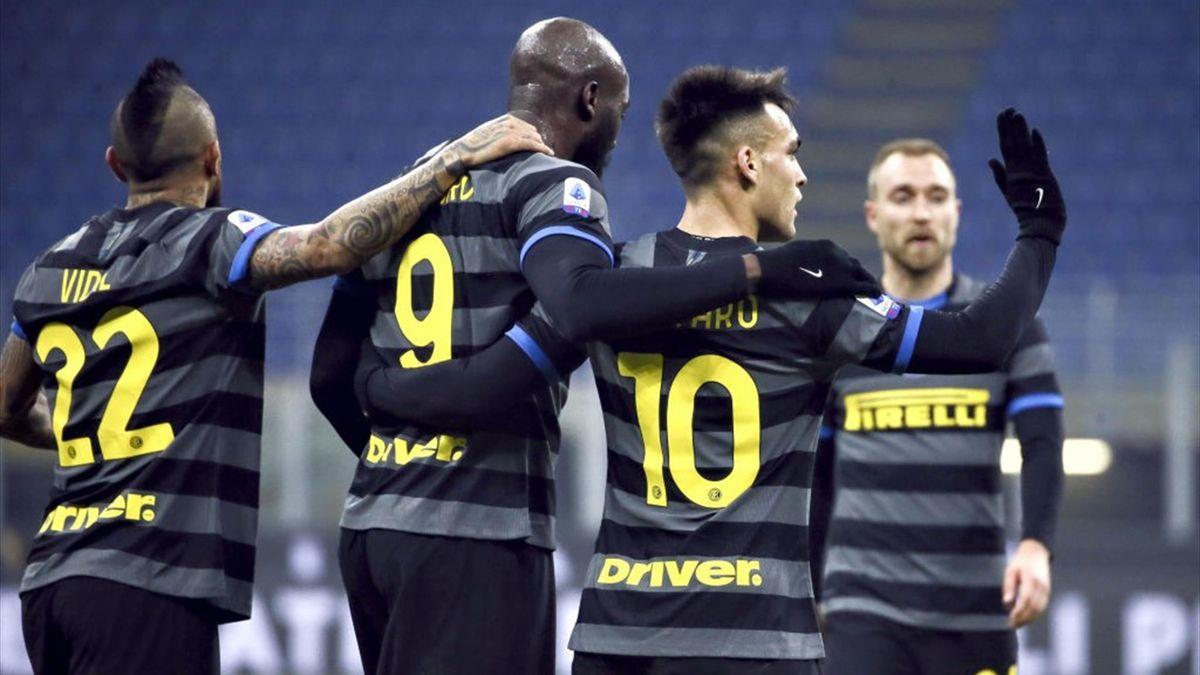 Inter-Benevento - Serie A 2020-2021