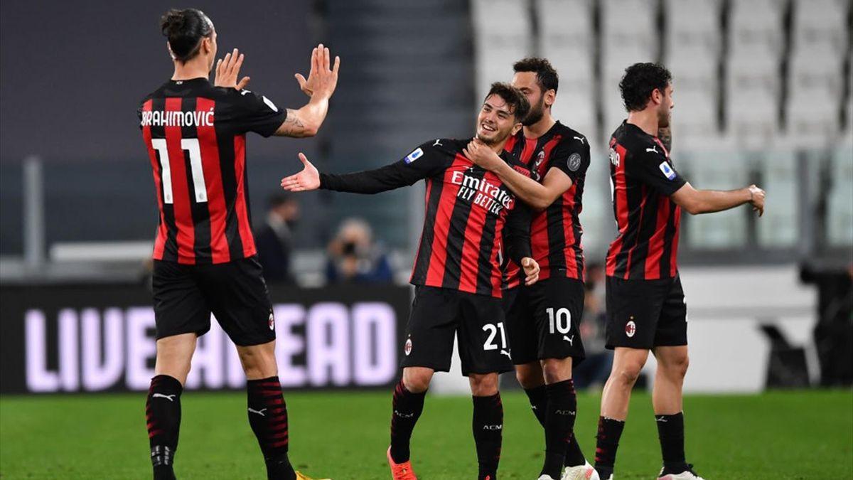 Esultanza Diaz, Ibra & Co. - Juventus-Milan