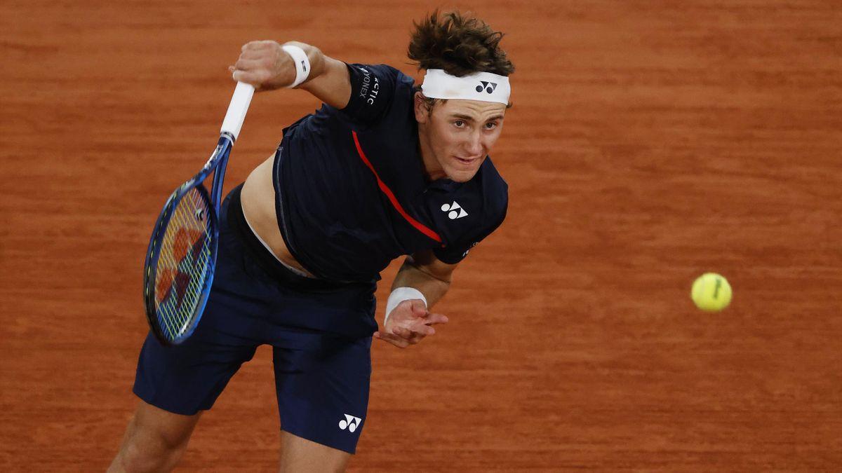 Casper Ruud à Roland-Garros en 2020