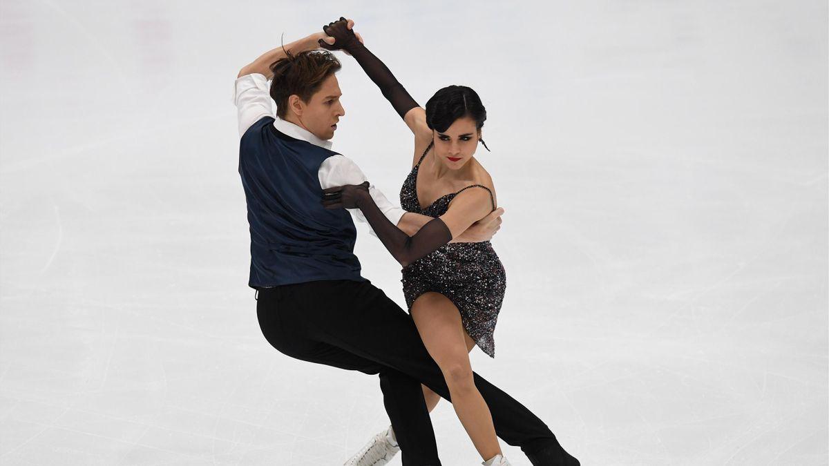 Kirill Khalyavin y Sara Hurtado