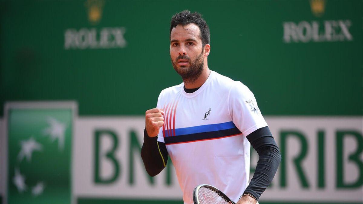 Salvatore Caruso al torneo di Monte Carlo 2021 (foto ufficio stampa Caruso)