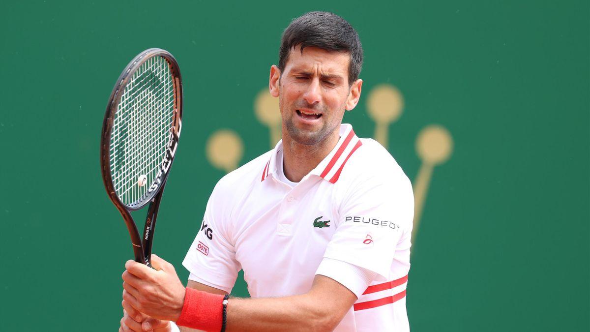 Novak Djokovic à Monte-Carlo (2021)