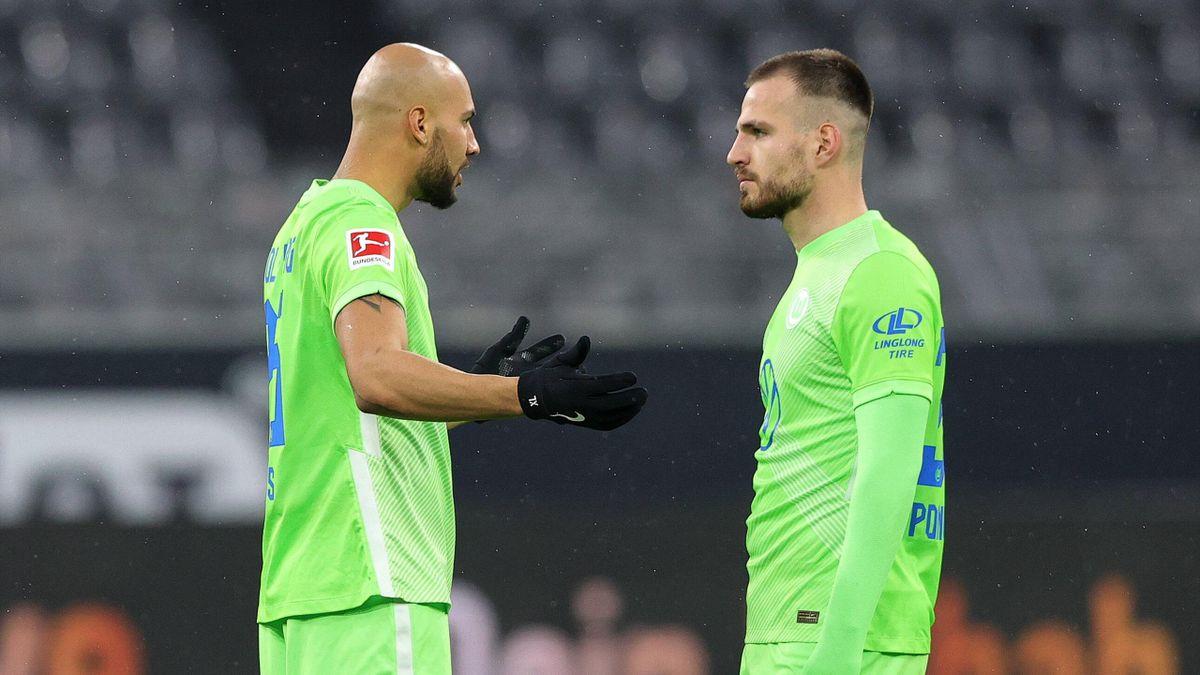 John Anthony Brooks (links) und Marin Pongracic - VfL Wolfsburg