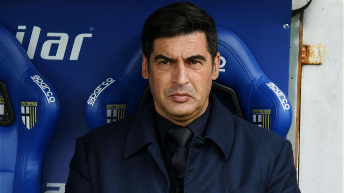 Paulo Fonseca - Parma-Roma - Serie A 2020-2021