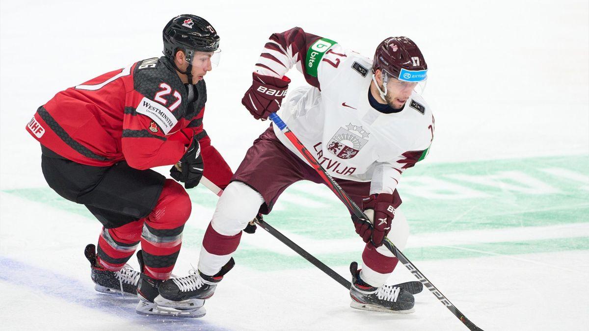 Латвия – Канада. ЧМ-2021