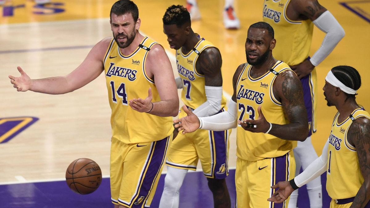 Marc Gasol y Kobe Bryant (Los Ángeles Lakers)