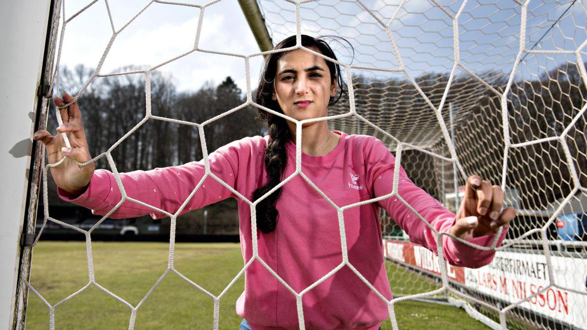 Khalida Popal (ici en 2018)