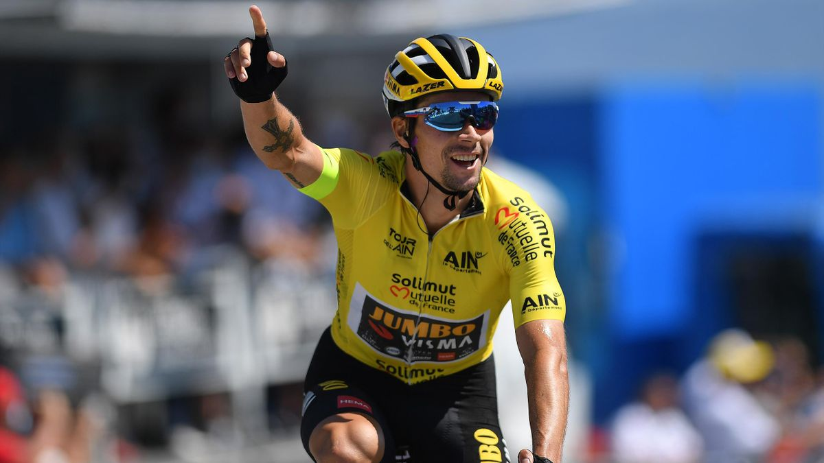 Primoz Roglic Beats Egan Bernal To Tour De L Ain Title With Second Stage Win As Tour De France Looms Eurosport