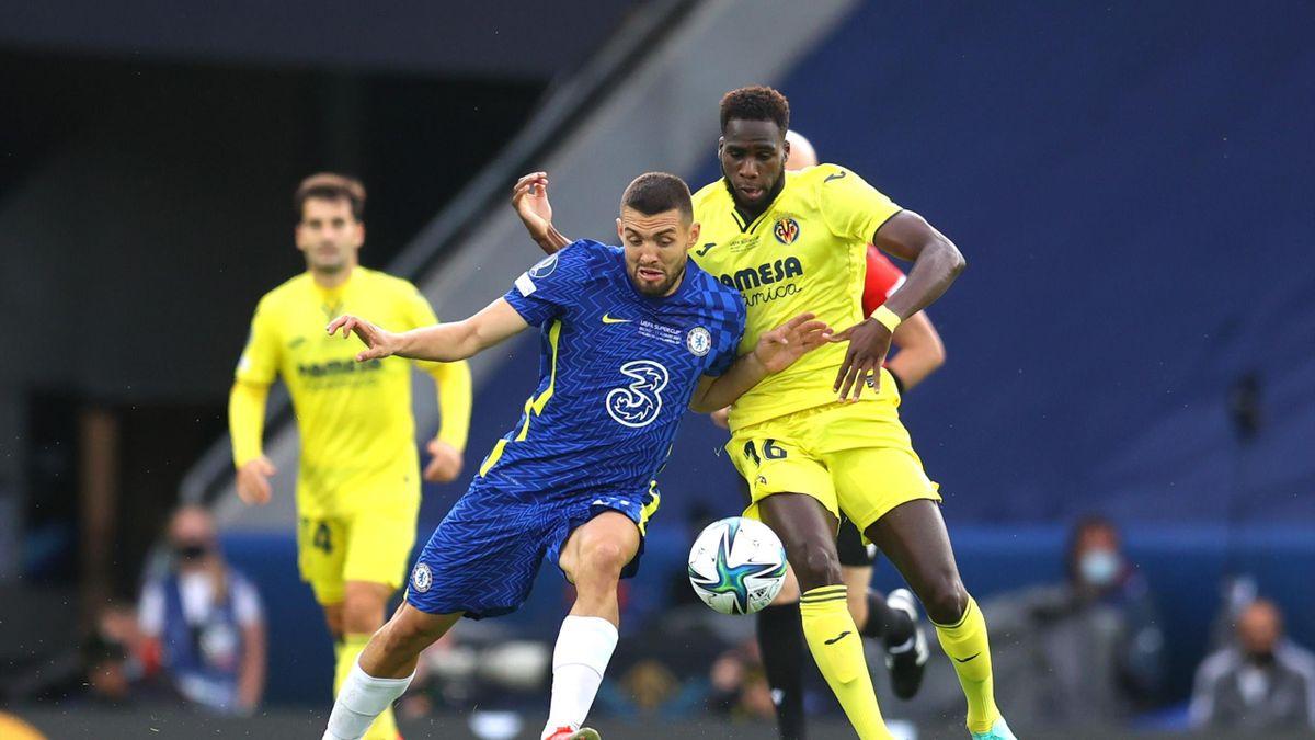 Chelsea FC v Villarreal CF – UEFA Super Cup 2021, Mateo Kovacic, Boulaye Dia