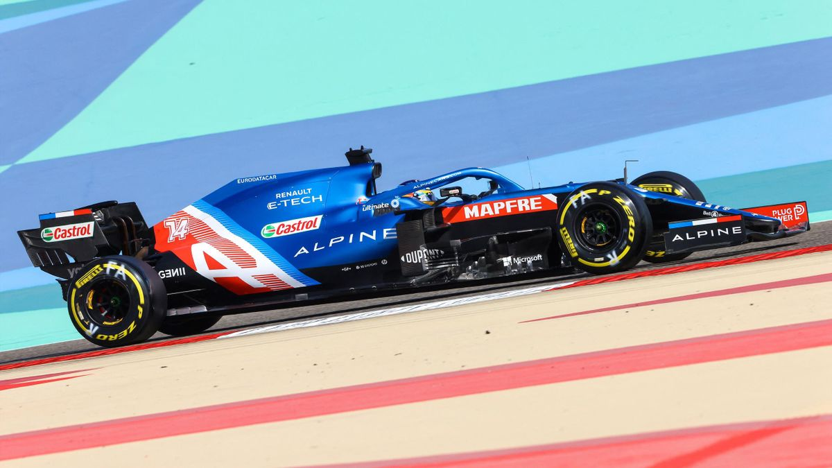 Fernando Alonso (Alpine). GP Baréin 2021