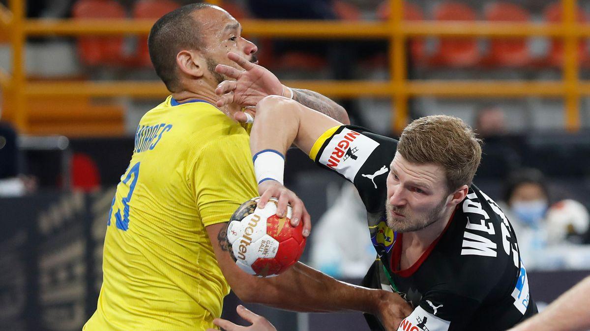 Philipp Weber in Aktion - Deutschland vs. Brasilien