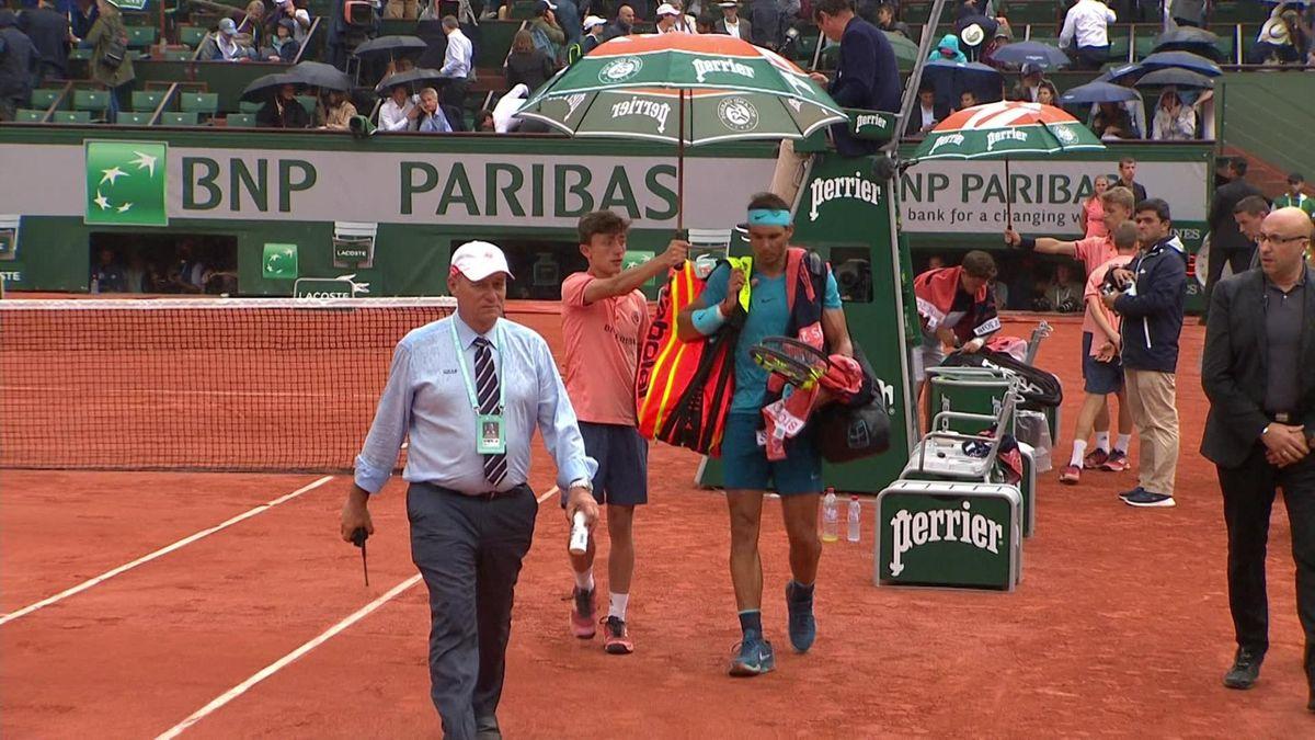French Open Highlights: INTERRUPTED Nadal v Schwartzman