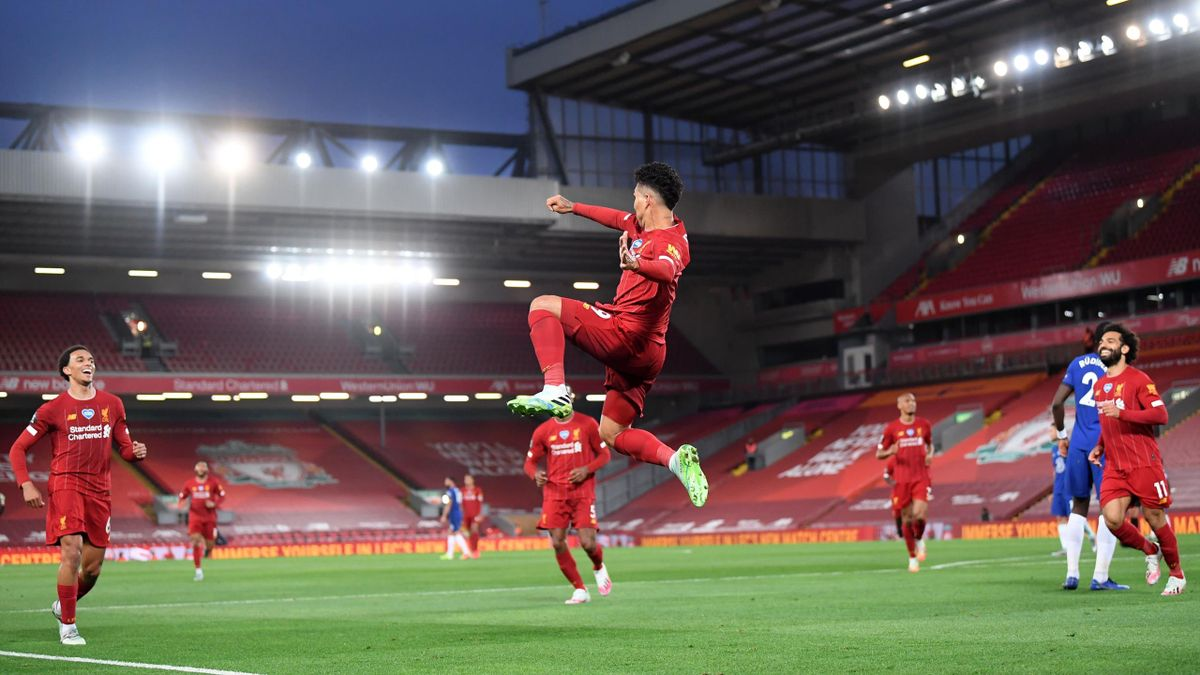 Roberto Firmino (Liverpool) buteur contre Chelsea