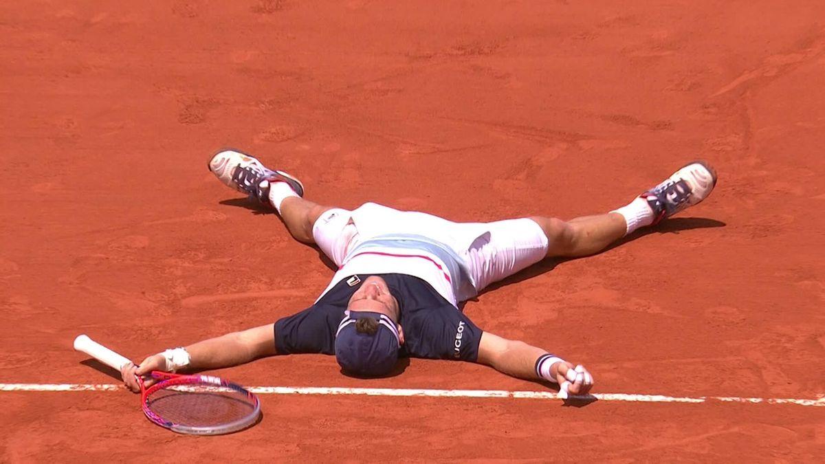 French Open Highlights : Anderson v Schwartzman