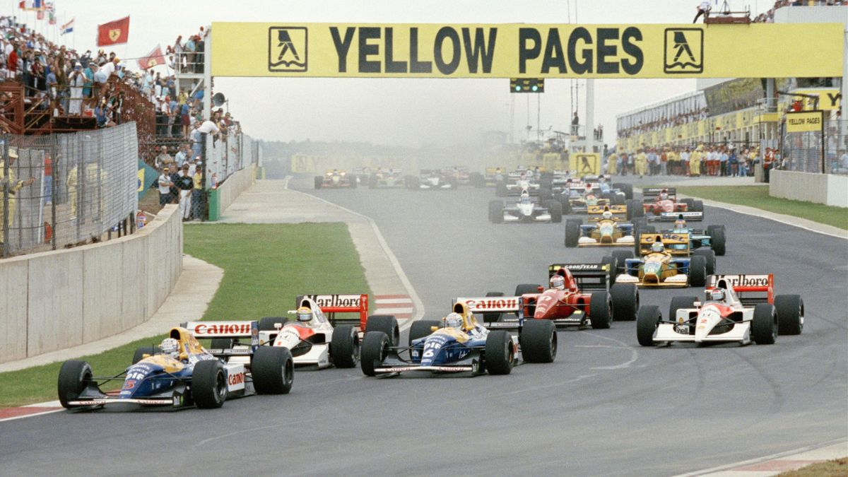 Die Formel 1 im Jahr 1993 bei ihrem letzen Gastauftritt in Südafrika