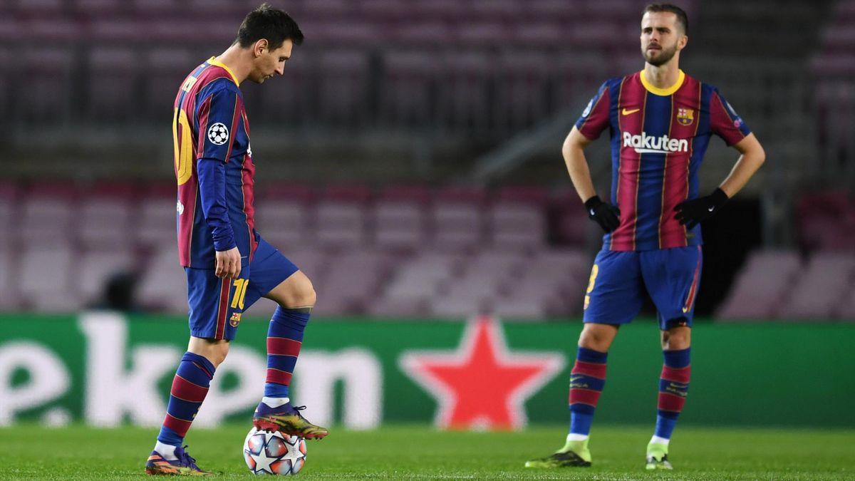 Messi Pjanic Barcelona