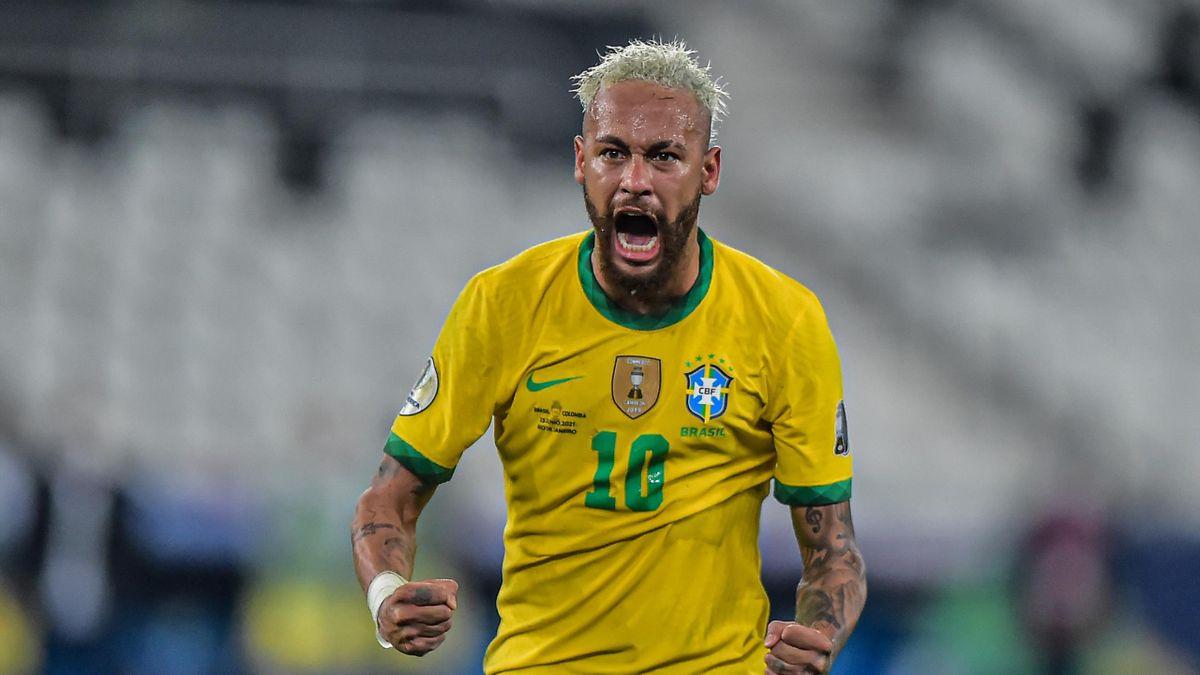 Неймар, сборная Бразилии