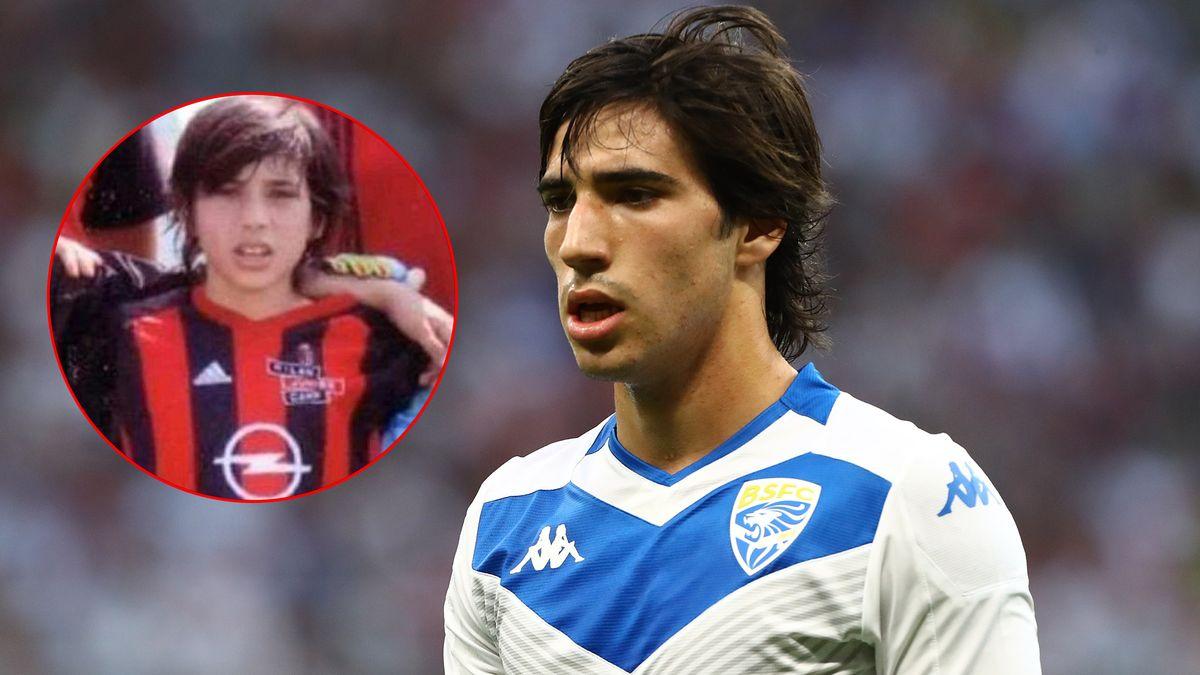 Milan, Sandro Tonali da bambino