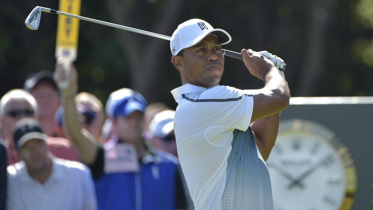 Tiger Woods en el Open Británico