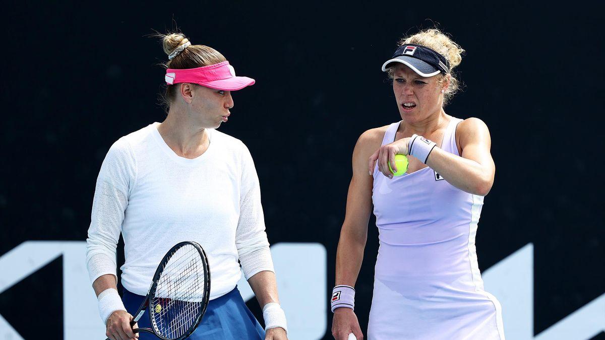 Vera Zvonareva, Laura Siegemund - Australian Open 2021