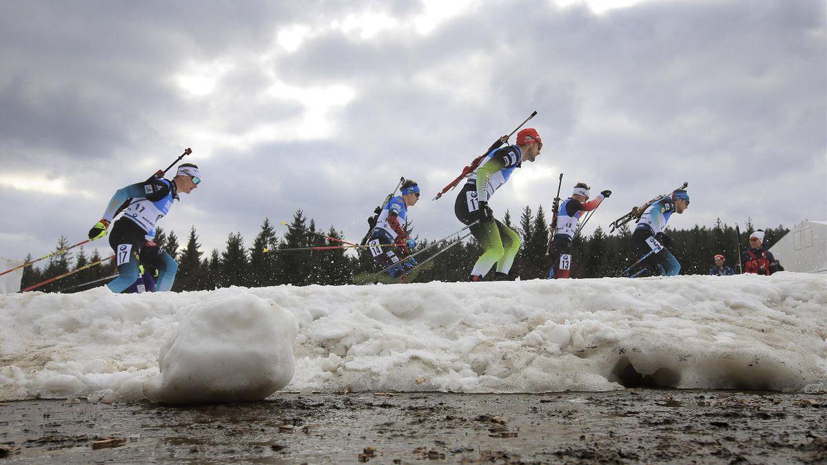 Biathlon-Weltcup in Nove Mesto