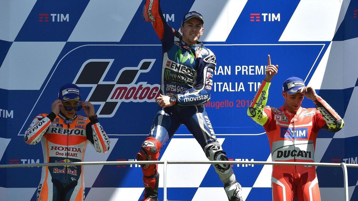 Jorge Lorenzo ganó el G. P. de Italia