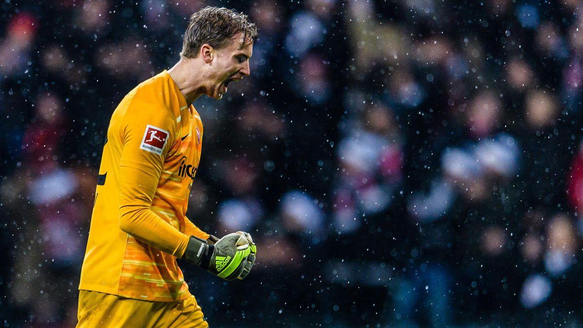 Frederik Rönnow wechselt von Eintracht Frankfurt zu Union Berlin.