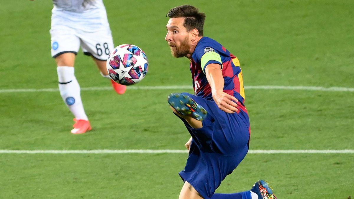 Leo Messi, spre Serie A