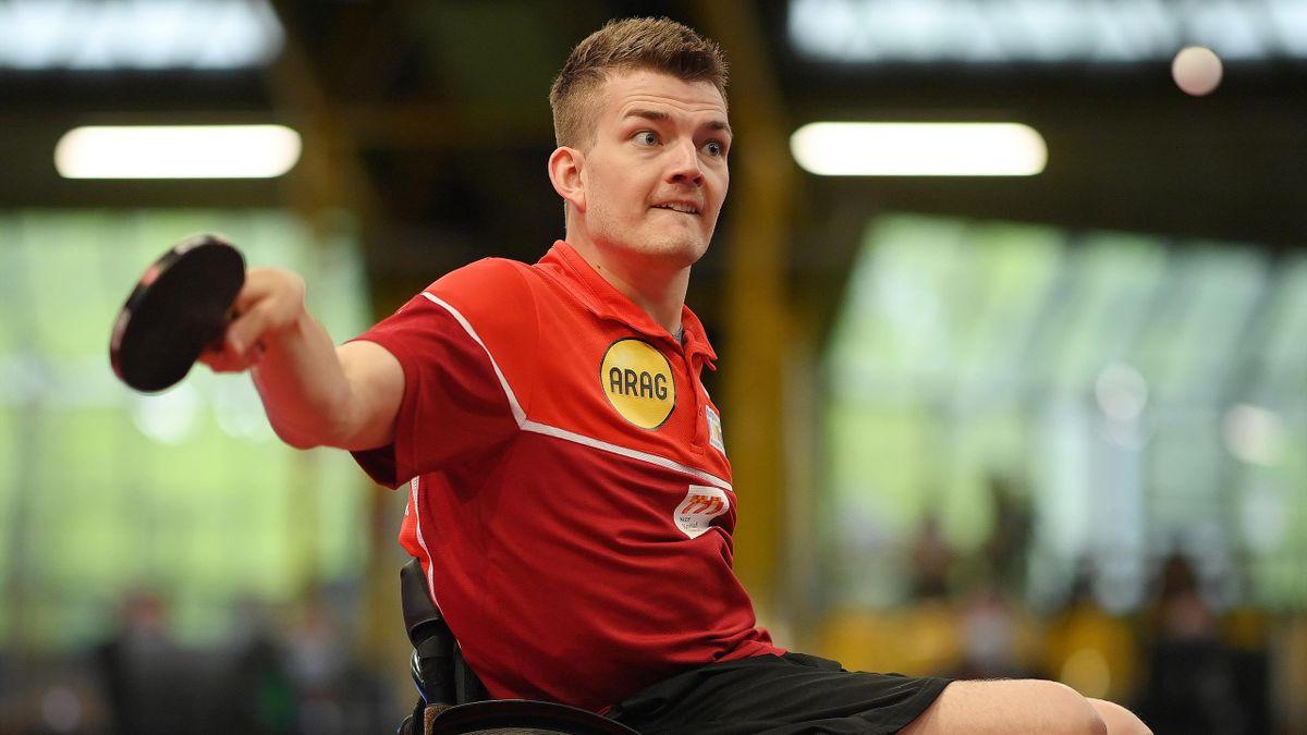 Thomas Schmidberger spielt um die Goldmedaille