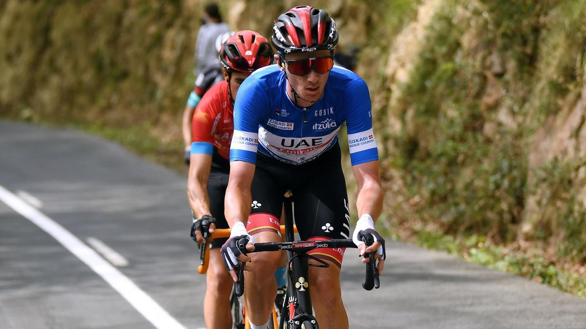 Brandon McNulty sur le Tour du Pays basque