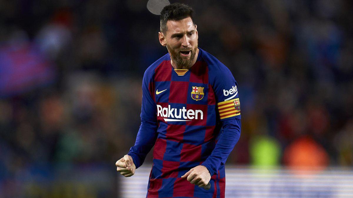 Lionel Messi vom FC Barcelona