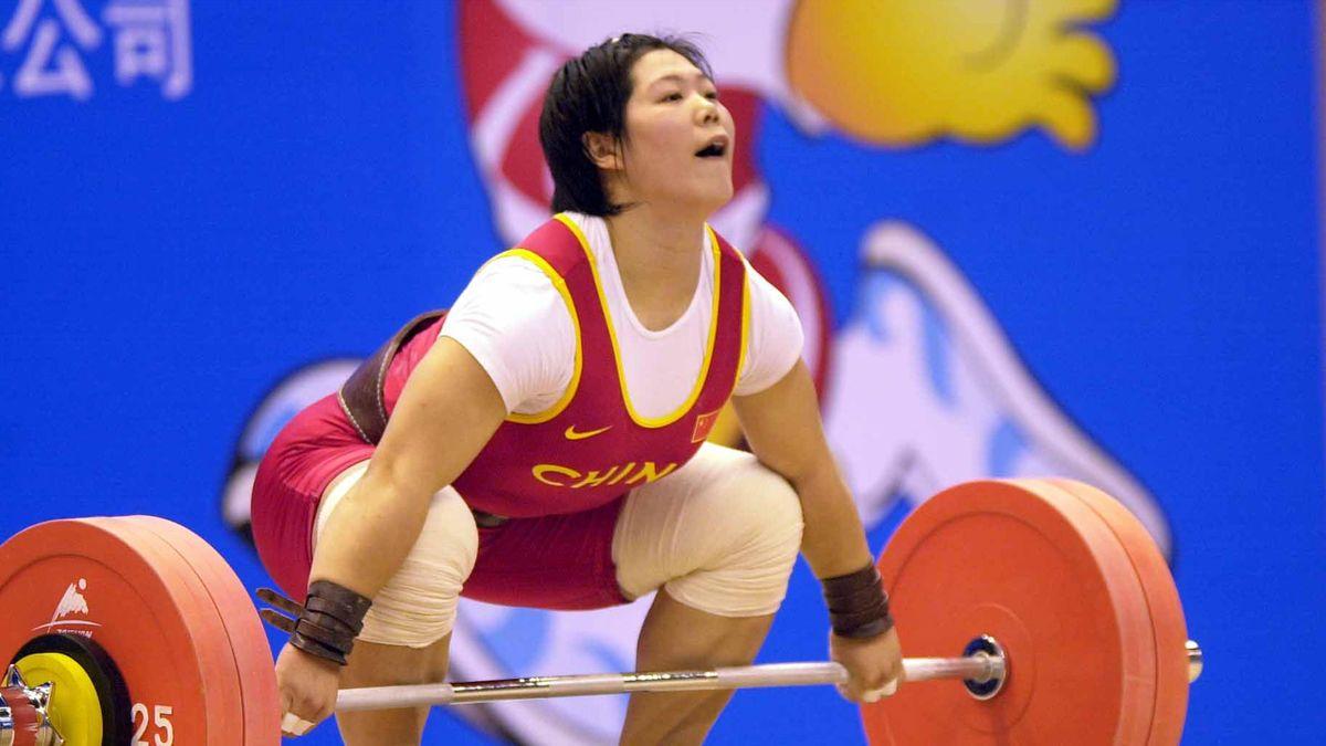 WEIGHTLIFTING china liu chunhong