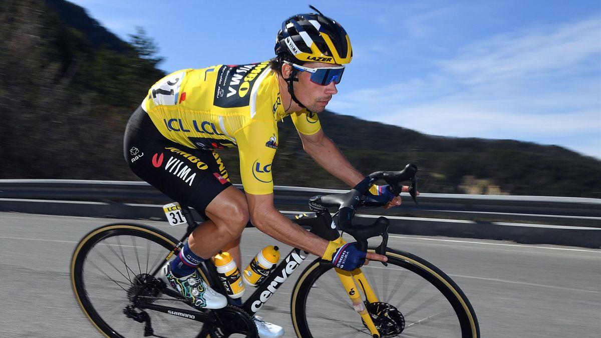 Primoz Roglic lors de la 7e étape de Paris-Nice