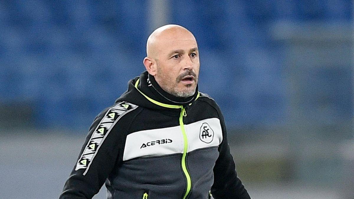 Vincenzo Italiano, Spezia 2020-2021 (Getty Images)