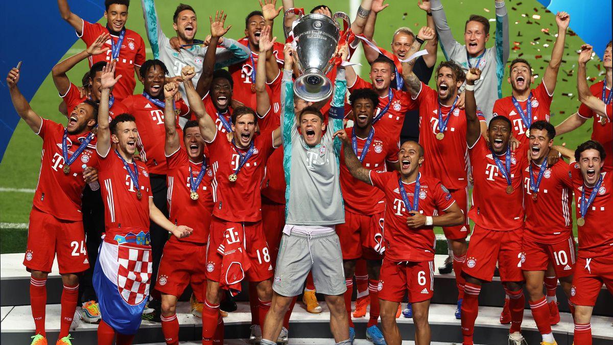 Der FC Bayern München gewann 2020 unter anderem die Champions League