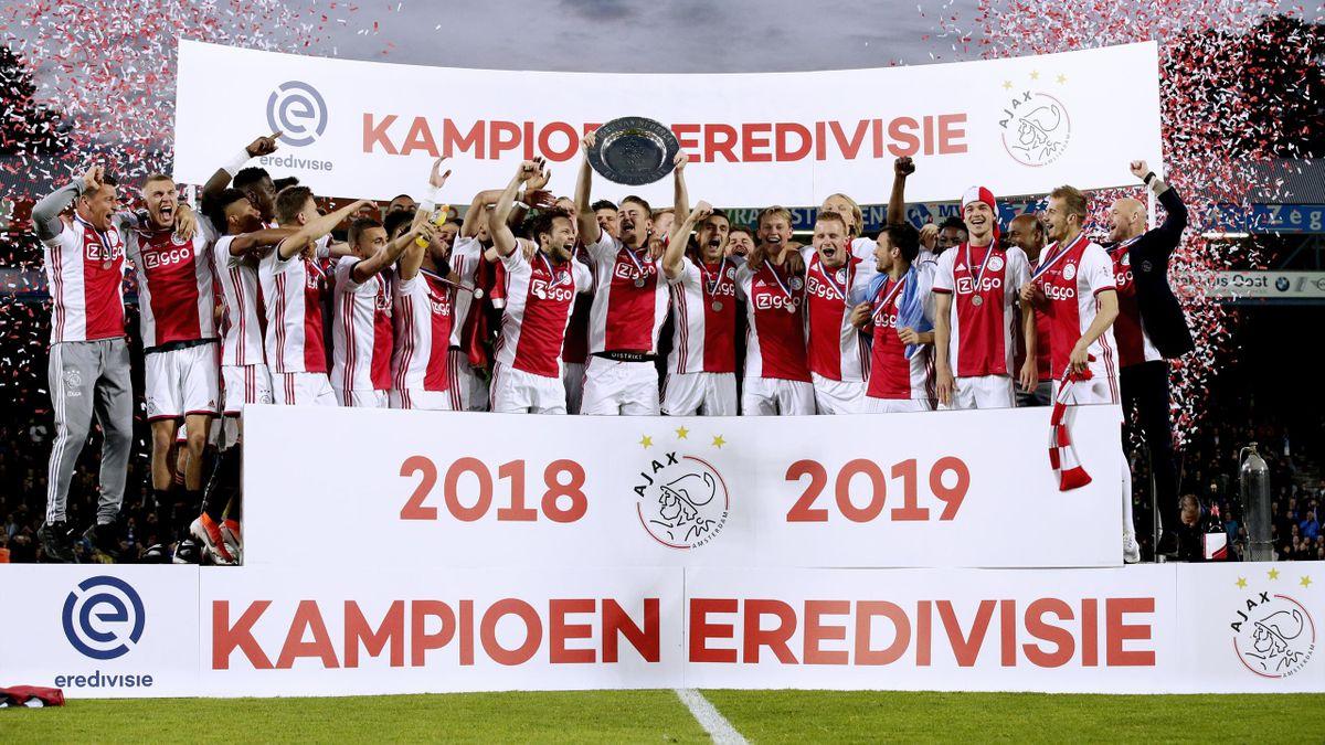 Ajax crowned Eredivisie champions