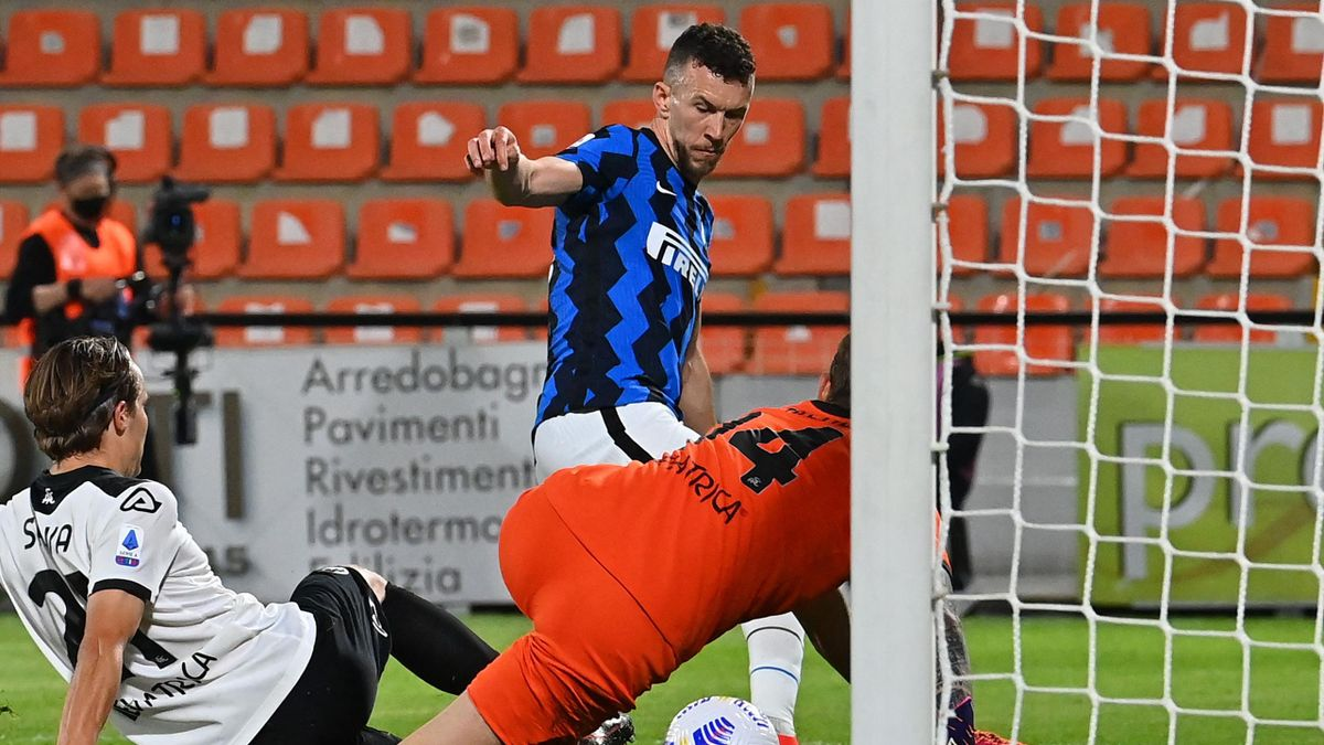 Ivan Perisic in Spezia-Inter, Serie A 2020/21. Getty Images