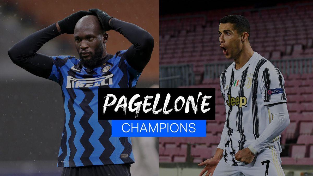 Lukaku e Cristiano Ronaldo - Pagellone Champions League 2020-2021