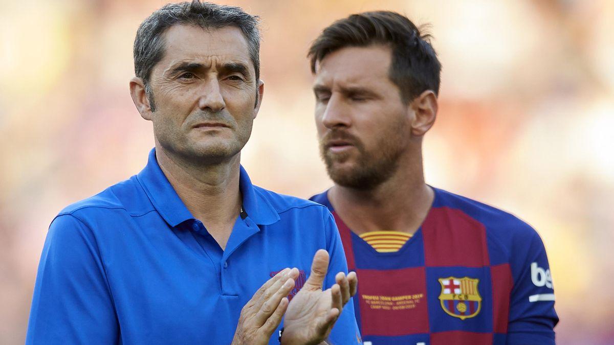Ernesto Valverde, Lionel Messi