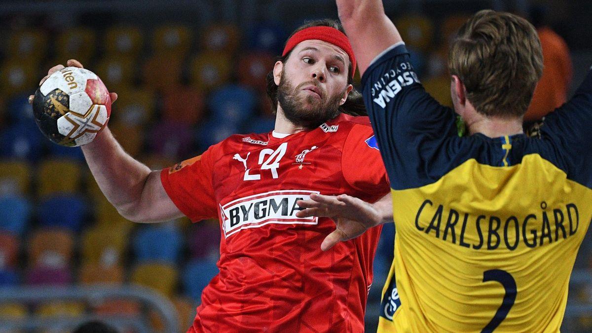 Dänemarks Mikkel Hansen (links) ist zum MVP der Handball-WM gewählt worden