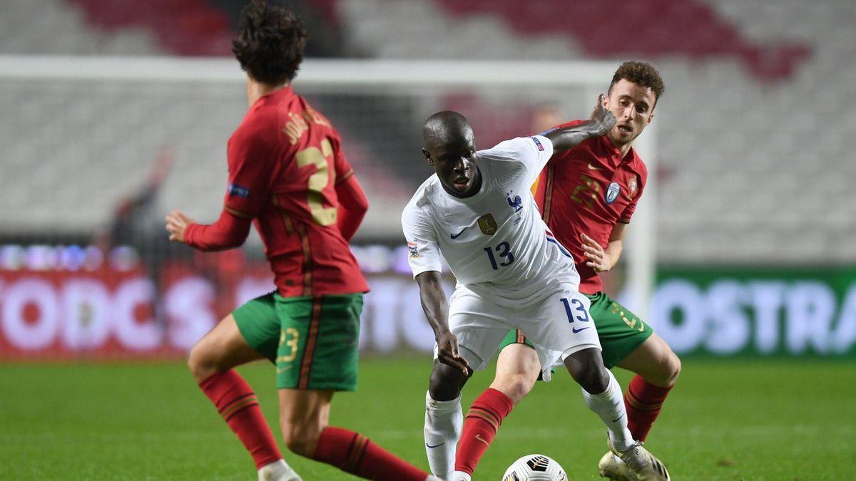 N'Golo Kanté (France) contre le Portugal / Ligue des Nations