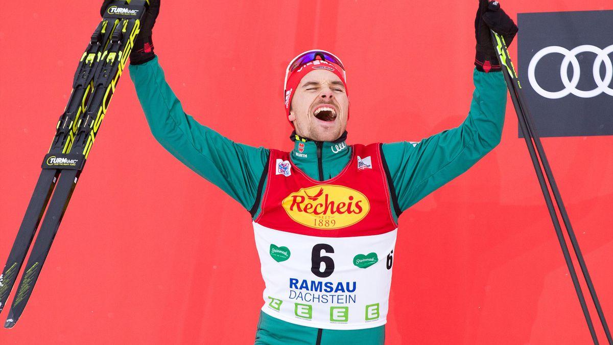 Fabian Rießle holte sich seinen ersten Saisonsieg