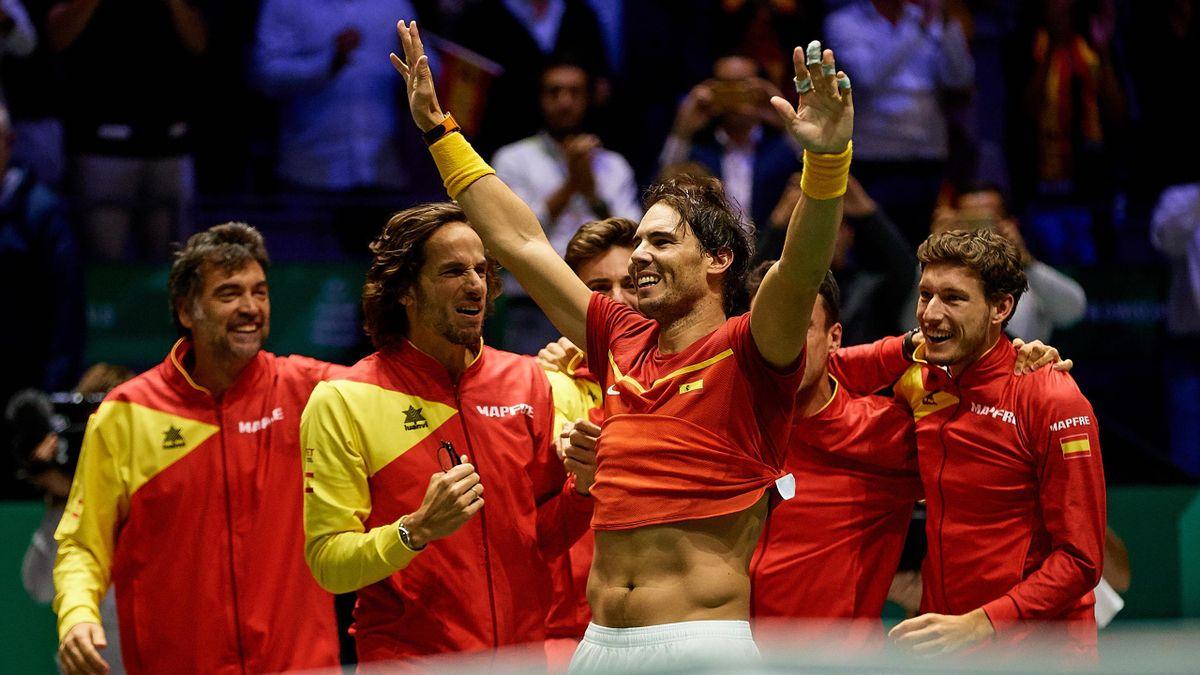 Rafael Nadal - Davis kupa