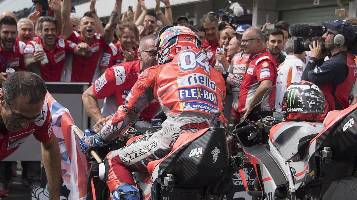 Andrea Dovizioso (Ducati Team) au Grand Prix de République tchèque 2018