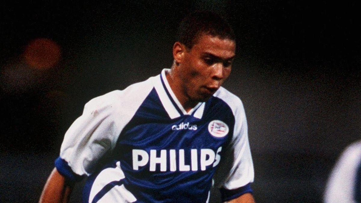 Ronaldo, în sezonul 1994-1995, în tricoul lui PSV
