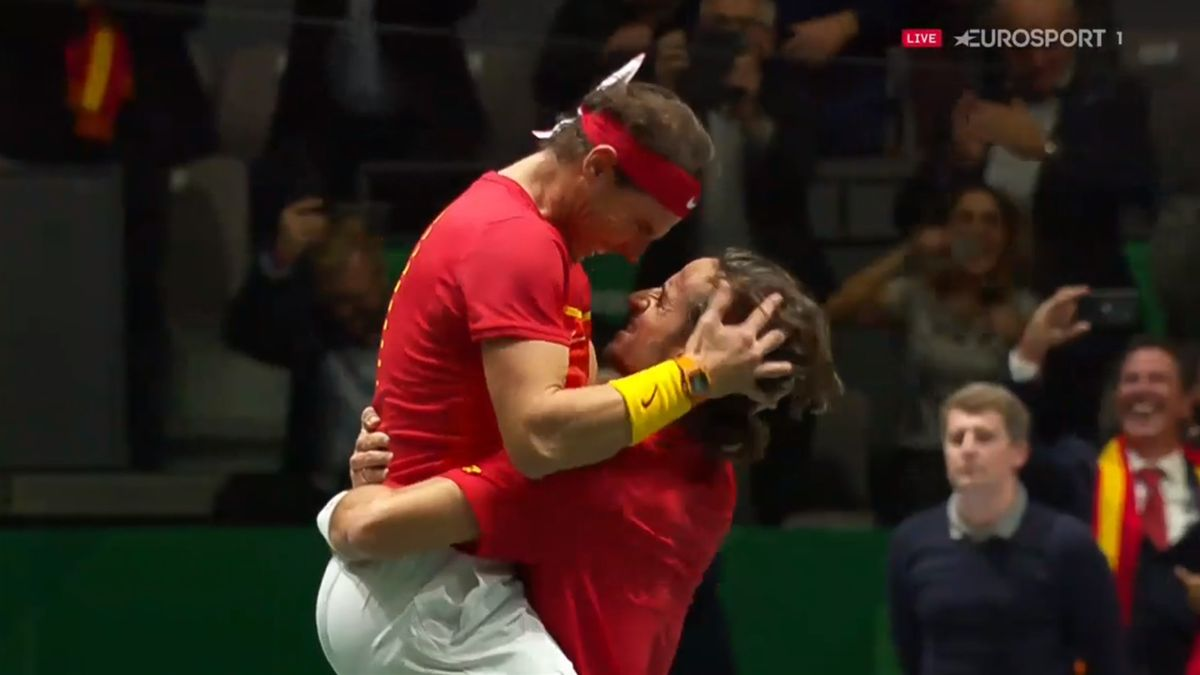 Rafael Nadal and Feliciano Lopez
